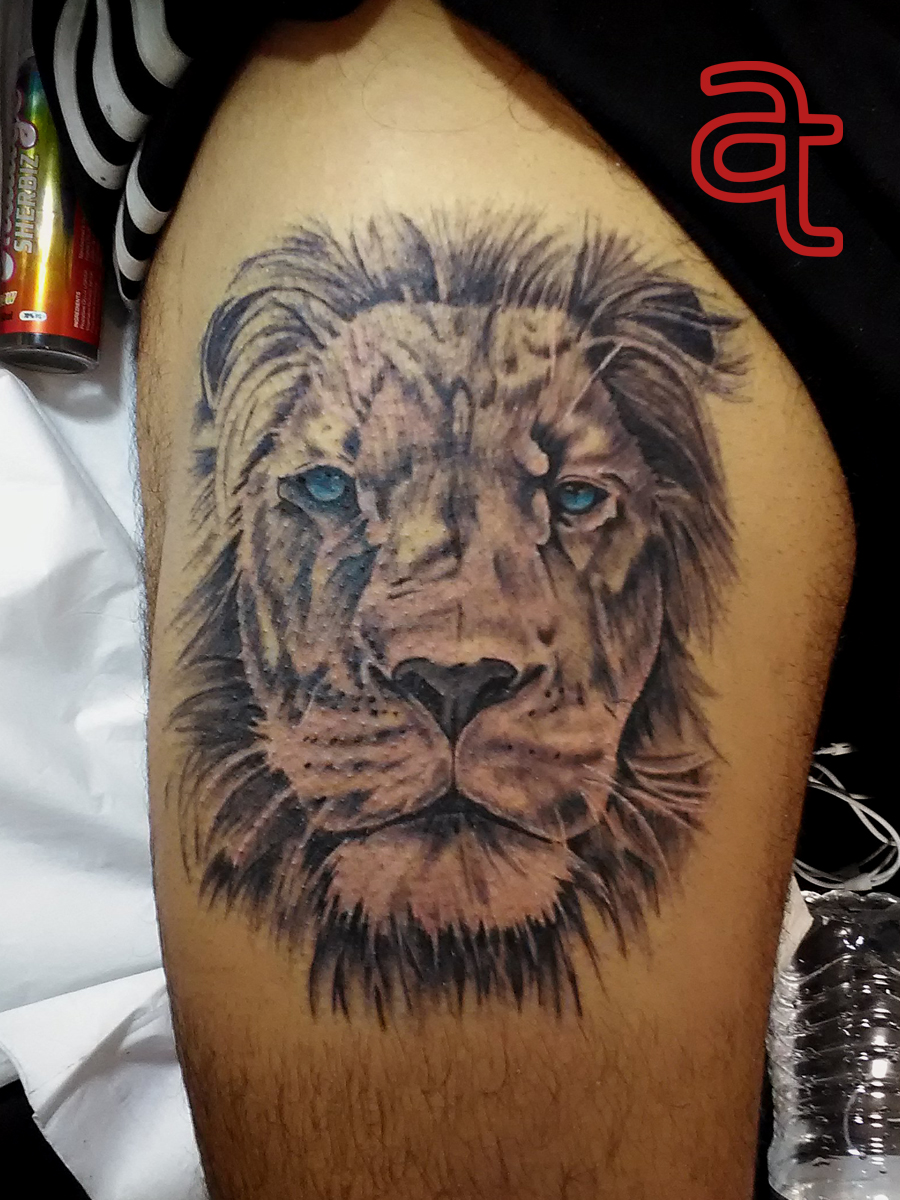 Lion Tattoo Atka Tattoo