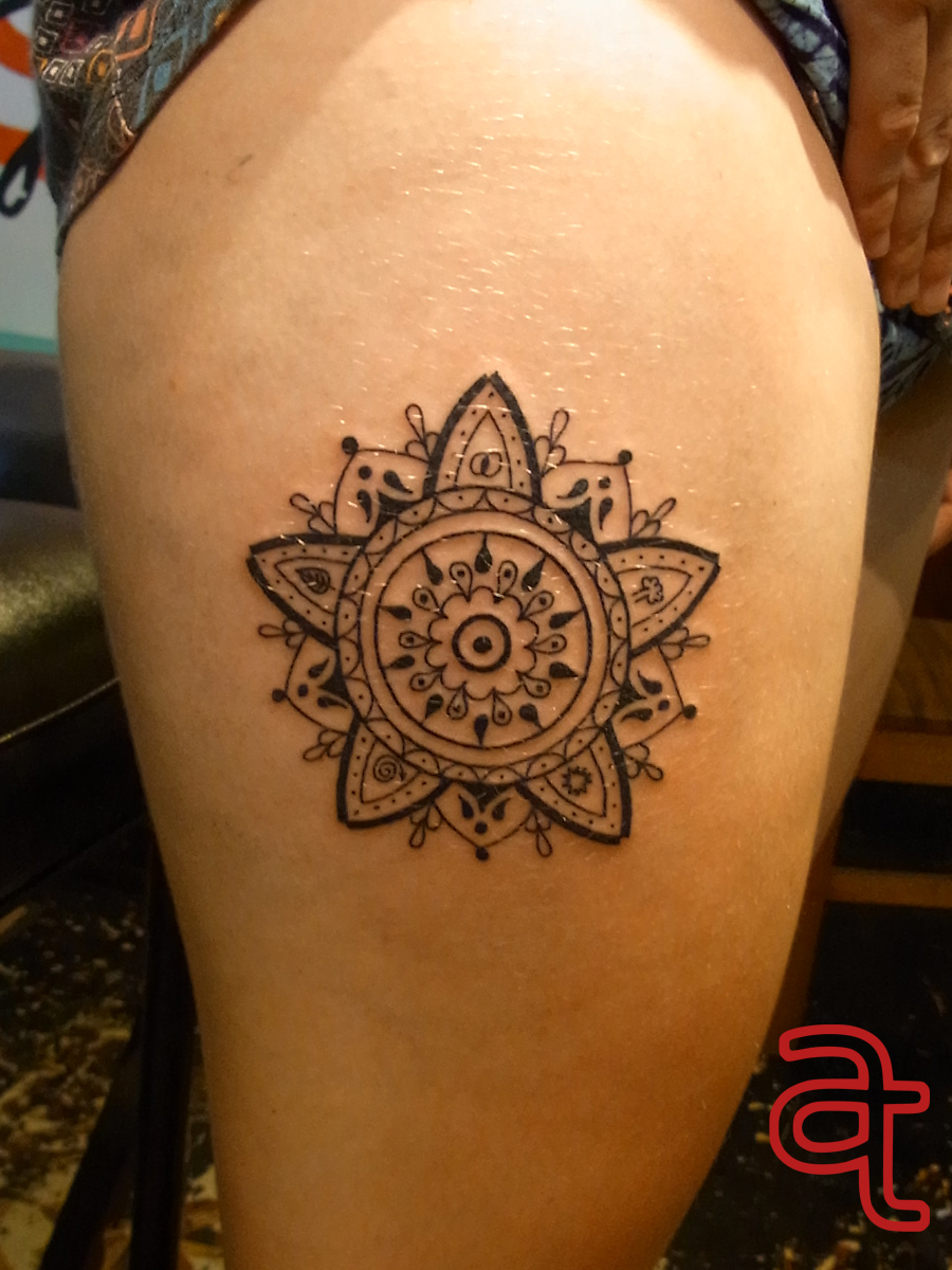 Mandala tattoo by Dr.Ink - Atkatattoo - Phnom Penh - Cambodia