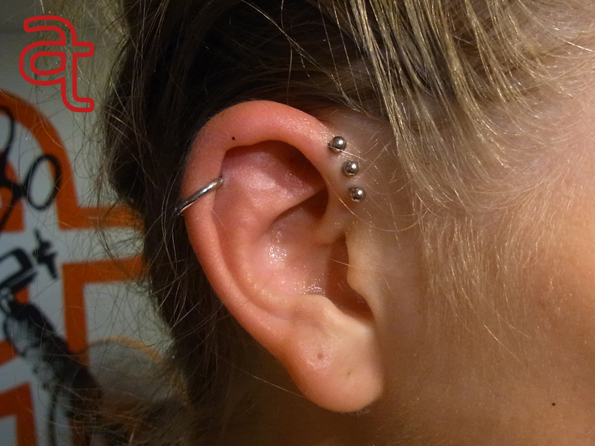 Piercing done by Dr.Ink - Atkatattoo - Phnom Penh - Cambodia