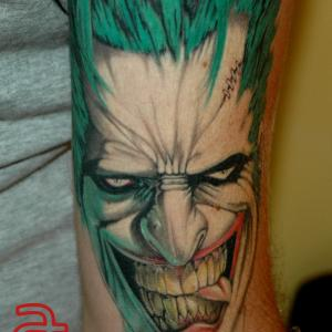 Joker by Dr.Ink - Atkatattoo - Cambodia