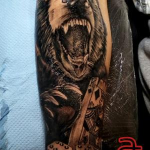 Tattoo by Dr.Ink - Atkatattoo - Leeds - United Kingdom
