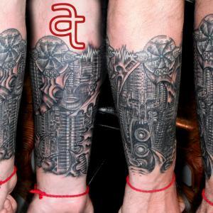 Tattoo artist: Dr.Ink, Atka Tattoo, Phnom Penh, Cambodia.