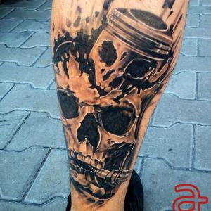 Piston tattoo by Dr.Ink - Atkatattoo - Cambodia