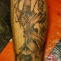 Demon tattoo by Dr.Ink - Atkatattoo - Cambodia